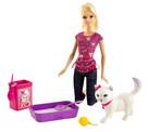 Barbie Barbie'nin Kedisi Tuvalet Eğitimi BDH76