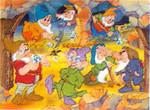 Puzzle 2*20'lik Die 7 Zwerge- Pamuk Prenses ve 7 Cüceler 089529