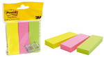 Post-İt® Not Sayfa İşareti, 3 Renk X 100 Yaprak 25Mmx76Mm'671-3'