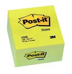 Post-it® Küp Not Sarı 636B