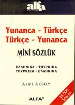 Yunanca-Türkçe/Türkçe-Yunanca Mini Sözlük(35.000 Sözcük)