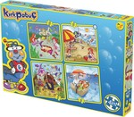 Kırkpabuç Deniz4x16 Parça Puzzle (Karton) 6101