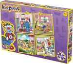 Kırkpabuç-Bir Günün Hikayesi 4x16 Parça Puzzle 6102