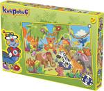 Kırkpabuç Orman Hayvanları 1 48 Parça (Karton) 6321