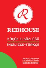 Redhouse Küçük Elsözlüğü-İngilizce/Türkçe-Kırmızı