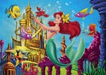 Clementoni 3x48'lik The little Mermaid '25131'