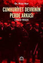Cumhuriyet Devrinin Perde Arkası (1923-1933)