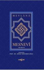 Mesnevi Mevlana - Tam Metin (Kitap Kağıdı)