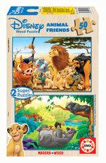 Educa 13144  2 X 50 Animal Friends