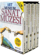 Art Museum Sanat Müzesi 4 Kitap - 4 CD