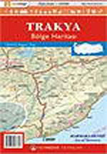 Trakya Bölgesi Haritası
