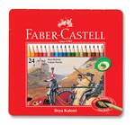 Faber-Castell Metal Kutu Boya Kalemi 24 Renk - 5170115845