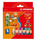 Stabilo Woody 3 in 1 - 6 Renk 8806-2