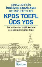 Sınavlar İçin İngilizce Eşanlamlı Kelime Kartları - KPDS TOEFL ÜDS YDS