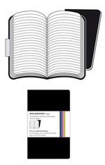 Moleskine Volant Pocket Ruled Notebook (Çizgili 2'li Siyah)