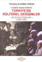 II. Dünya Savaşı Sonrası Türkiye'de Kültürel Değişim