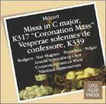 Mozart: Coronation Mass, Vesperae Solemnes De Confessore in C
