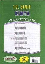 10.Sınıf Kimya Konu Testi  ( 24 Yaprak - 2008 )