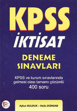 KPSS İktisat Denem Sınavları