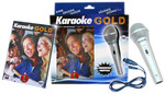 Karaoke Gold 1 Set (Mikrofon Hediyeli)