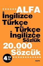 Alfa İngilizce-Türkçe/Türkçe-İngilizce Sözlük