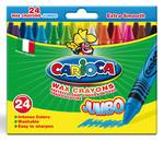 Carioca Kalın Pastel Boya Kalemi - 24 Adet / Karton Ambalajda 42390