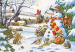 Anatolian Puzzle Kış Hediyesi / Frosty's Giftrs 260 Parça 3272