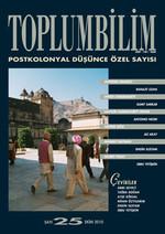 Toplumbilim Sayı 25 - Postkolonyal Düşünce Özel