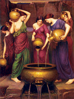 Art Puzzle The Danaides - John William Waterhouse - 4608 1500 Parça