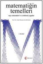Matematiğin Temelleri, Sayı Sistemleri ve Cebirsel Yapılar