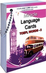 Miracle Language Cards TOEFL Words 2