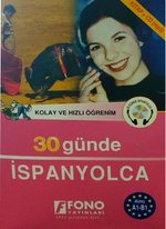 30 Günde İspanyolca - Kitap + 4 CD Kutulu