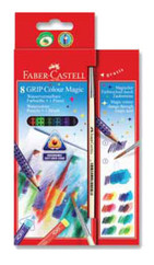 Faber-Castell Grip Sihirli Boya Kalemi 8 Renk 5170113008