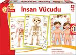 Educa Puzzle İnsan Vücudu (Öğrenme)  15226