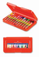 Faber-Castell Altıgen Pastel Plastik Kutu,12 Renk - 5281125112