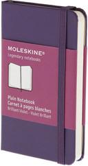 Moleskine X Small Plain Hard Cover Notebook - Düz Mor Defter
