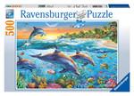 Ravensburger Yunuslar 500 Parçalı Puzzle - Ra 142101