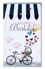 Big Muk 01 Happy Birthday  Minik Uzun Kart