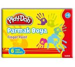 Play-Doh 6 Renk Parmak Boyası 40 ml PLAY-PR001
