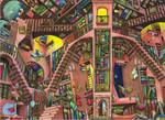 Anatolian Kütüphane / Libary 1000 Parça Puzzle - 3149