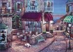 Anatolian Cafe Romantik / Cafe Romantique 1500 Parça Puzzle - 4516