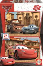 Educa Puzzle Cars 2 2x20 14938 Karton Disney