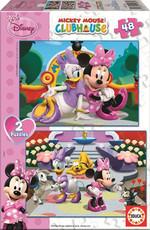 Educa Puzzle 2x48 Minnie 15136
