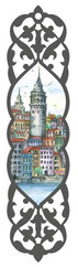 Galeri Alfa 2010102 Galata Kulesi - İstanbul Serisi Kitap Ayracı Renkli