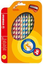 Stabilo Easy Colors 12 Renkli Set Sağ 332/12