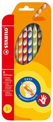 Stabilo Easy Colors 6 Renkli Set Sağ 332/6