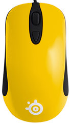 SteelSeries Kinzu v2 Rubberised retail Yellow Mouse SSM62023