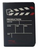 Notelook Production A7 Dikey Çizgili Siyah 100 Yaprak 70 T000Dftproba7V