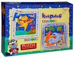 Kırkpabuç-Tekerleme 9 ve 12 Parça Puzzle 6105