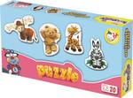 Kırkpabuç Hayvanlar Puzzle 20 Parçalık (Karton) 6111